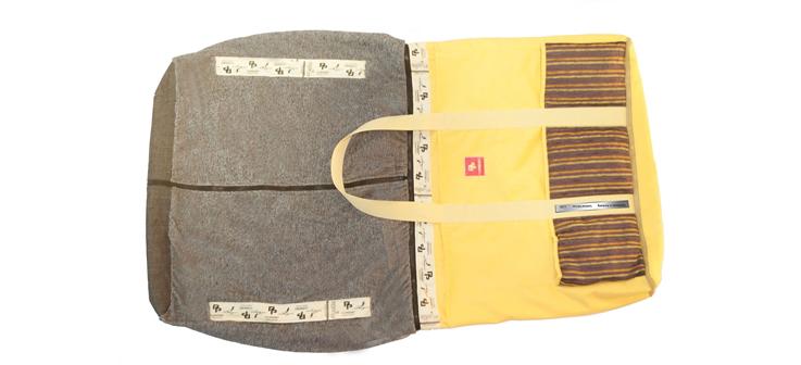 Violet Stripes - Handtuch - PurPocket